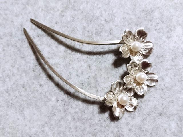 hair ornament「sakura」